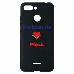 Xiaomi Redmi 6 Case I love you Plock