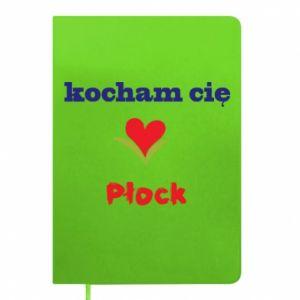 Notepad I love you Plock