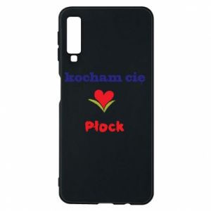 Phone case for Samsung A7 2018 I love you Plock