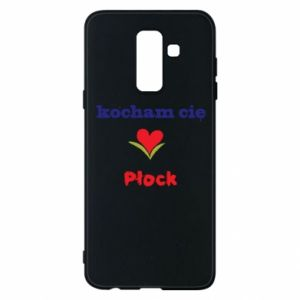 Phone case for Samsung A6+ 2018 I love you Plock