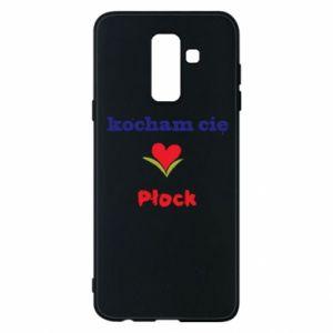 Samsung A6+ 2018 Case I love you Plock