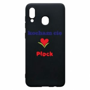 Phone case for Samsung A20 I love you Plock