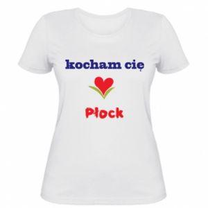 Women's t-shirt I love you Plock
