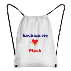 Backpack-bag I love you Plock
