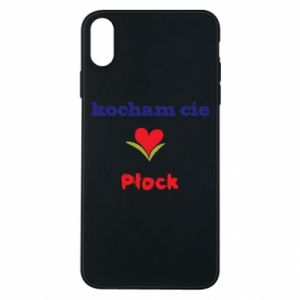 Phone case for iPhone Xs Max I love you Plock