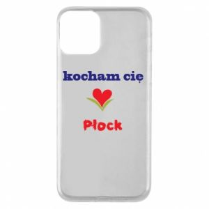 Phone case for iPhone 11 I love you Plock