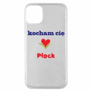 Phone case for iPhone 11 Pro I love you Plock