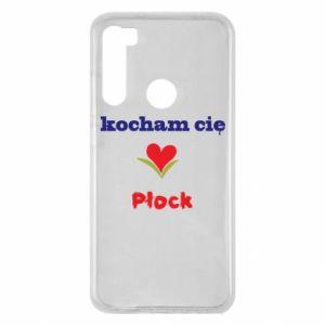 Xiaomi Redmi Note 8 Case I love you Plock