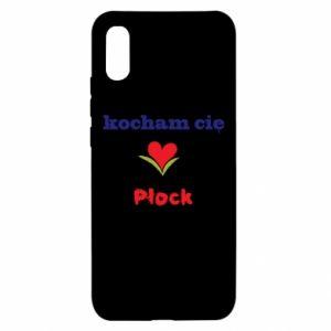 Xiaomi Redmi 9a Case I love you Plock