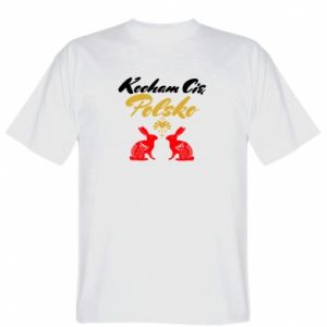 Koszulka męska Kocham Cię Polsko