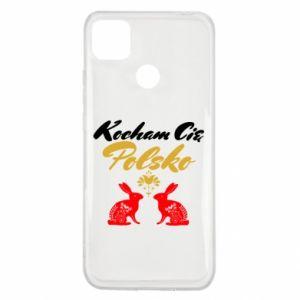 Xiaomi Redmi 9c Case I Love You Poland