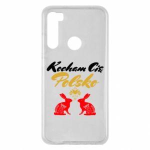 Xiaomi Redmi Note 8 Case I Love You Poland