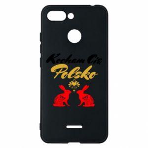 Etui na Xiaomi Redmi 6 Kocham Cię Polsko