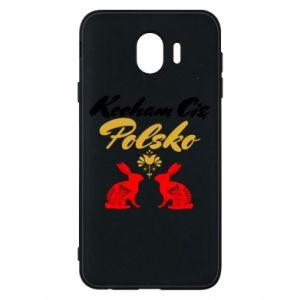 Etui na Samsung J4 Kocham Cię Polsko
