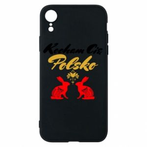 iPhone XR Case I Love You Poland