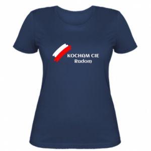 Damska koszulka Kocham cię Radom
