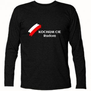 Koszulka z długim rękawem Kocham cię Radom