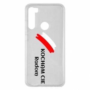 Xiaomi Redmi Note 8 Case I love you Radom
