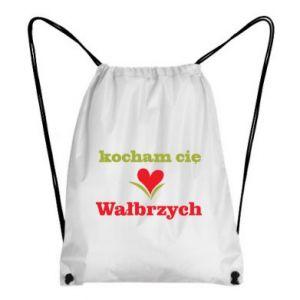 Plecak-worek Kocham cię Wałbrzych