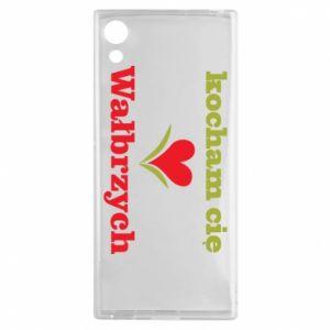Sony Xperia XA1 Case I love you Walbrzych