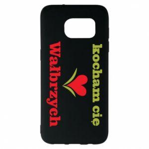 Samsung S7 EDGE Case I love you Walbrzych