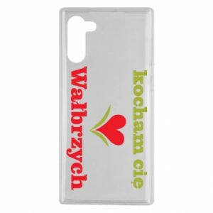 Samsung Note 10 Case I love you Walbrzych