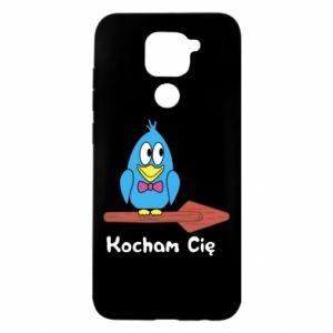 Etui na Xiaomi Redmi Note 9/Redmi 10X Kocham cię. Dla niego