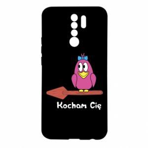 Etui na Xiaomi Redmi 9 Kocham cię. Dla niej