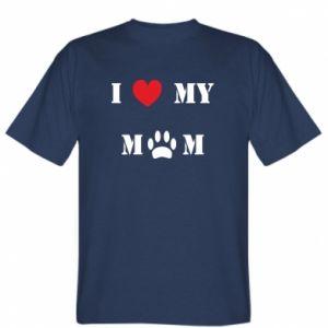 Koszulka Kocham mamusię - PrintSalon