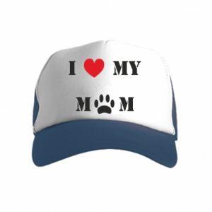 Kid's Trucker Hat Kocham mamusię