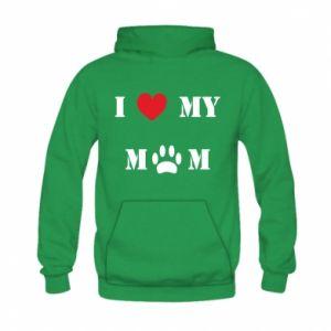 Kid's hoodie Kocham mamusię