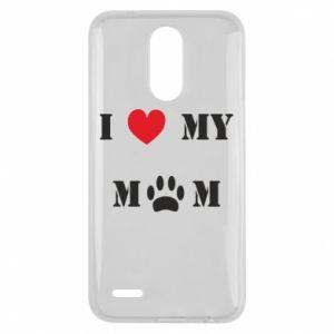 Lg K10 2017 Case Kocham mamusię