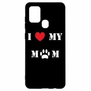 Samsung A21s Case Kocham mamusię