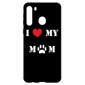Samsung A21 Case Kocham mamusię