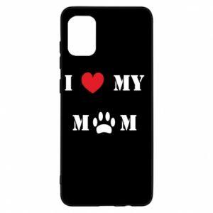 Samsung A31 Case Kocham mamusię