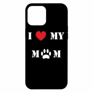 iPhone 12 Pro Max Case Kocham mamusię