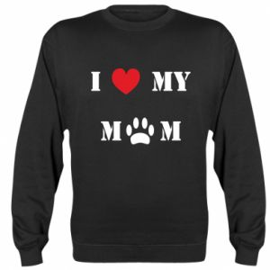 Bluza (raglan) Kocham mamusię - PrintSalon
