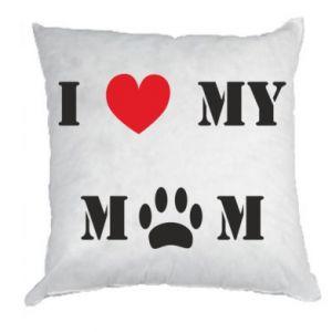 Poduszka Kocham mamusię - PrintSalon