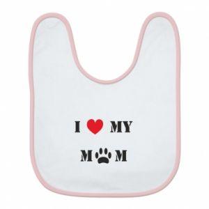 Śliniak Kocham mamusię - PrintSalon