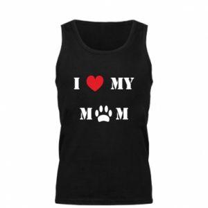 Męska koszulka Kocham mamusię - PrintSalon