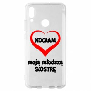 Huawei P Smart 2019 Case I love my younger sister
