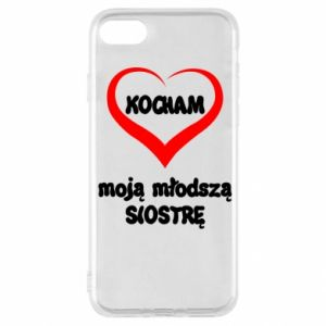iPhone SE 2020 Case I love my younger sister