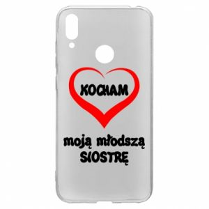 Huawei Y7 2019 Case I love my younger sister
