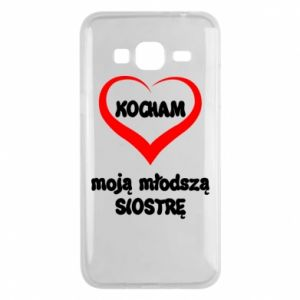 Samsung J3 2016 Case I love my younger sister