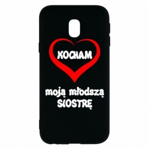 Samsung J3 2017 Case I love my younger sister