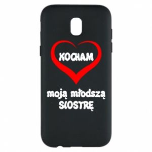 Samsung J5 2017 Case I love my younger sister