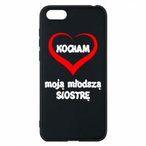Huawei Y5 2018 Case I love my younger sister