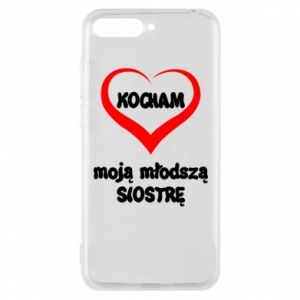 Huawei Y6 2018 Case I love my younger sister