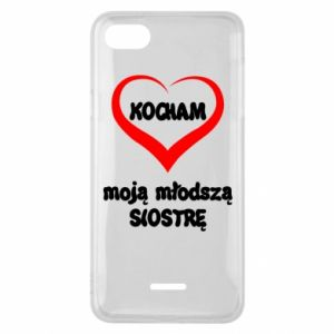 Xiaomi Redmi 6A Case I love my younger sister
