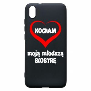 Xiaomi Redmi 7A Case I love my younger sister